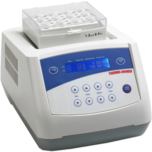 Thermal Shaker for Microtubes, Incubating Microplate Shaker (Digital)