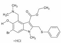 Arbidol Hydrochloride, >99%, CAS#131707-23-8,  For reseach Use Only!