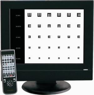 C900 Digital Vision (Eye) Chart