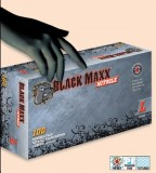 Black Maxx Nitril* Powder Free Exam Glove, Textured,100/bx ,10 bx/cs, $1 for shipping